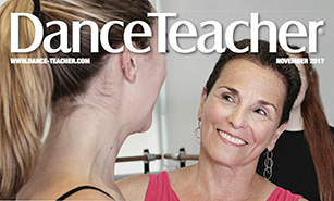 Dance Teacher Cover