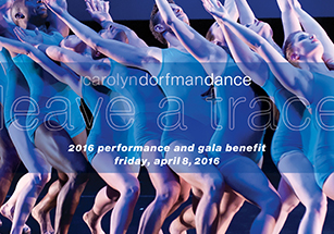 2016 Performance and Gala Benefit