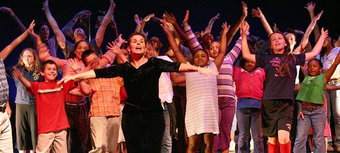 New Brunswick Culminating Performance - Redshaw School Residency